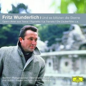 Die Berliner Philharmoniker, Fritz Wunderlich - Und es blitzten die Sterne, 00028948018253