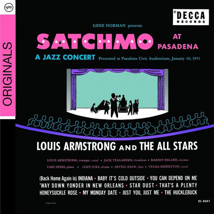Satchmo At Pasadena 0602517910485