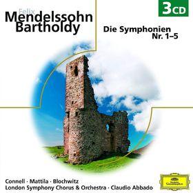 Claudio Abbado, Mendelssohn - Sinfonien 1-5, 00028948017928
