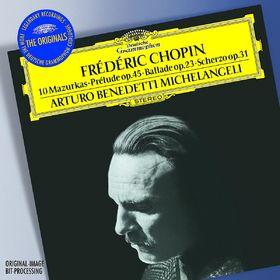 The Originals, Chopin: 10 Mazurkas; Prélude Op.45; Ballade Op.23; Scherzo Op.31, 00028947775638