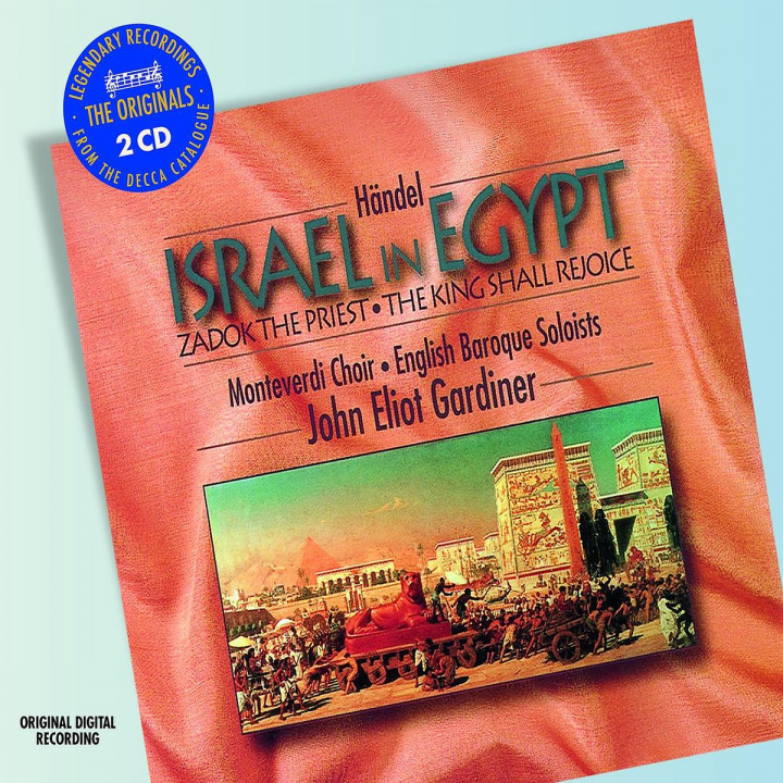 Handel: Israel in Egypt etc 0028947813743