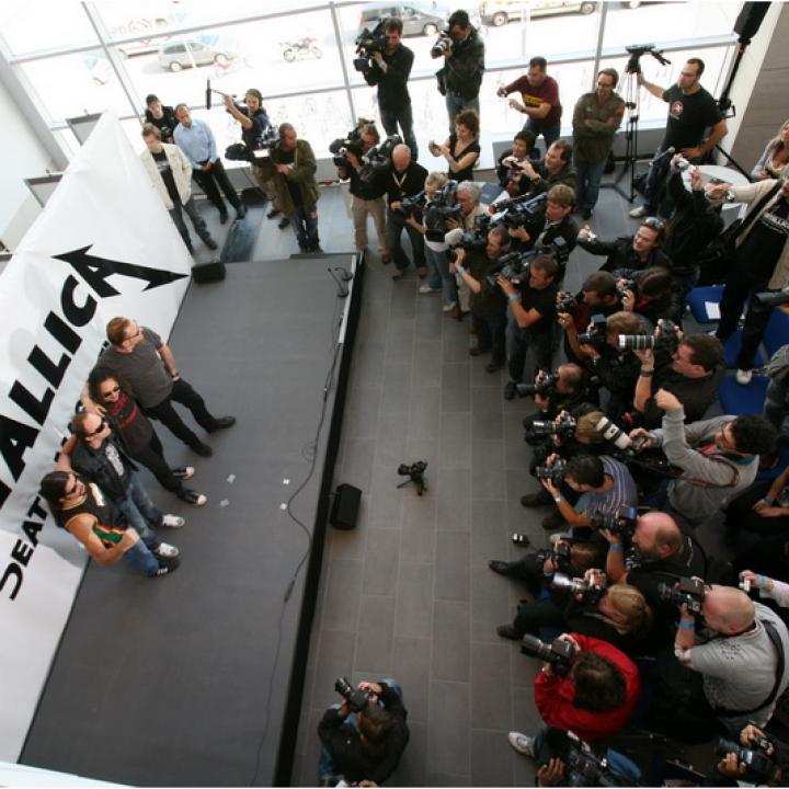 Metallica—Pressekonferenz Death Magnetic 2008