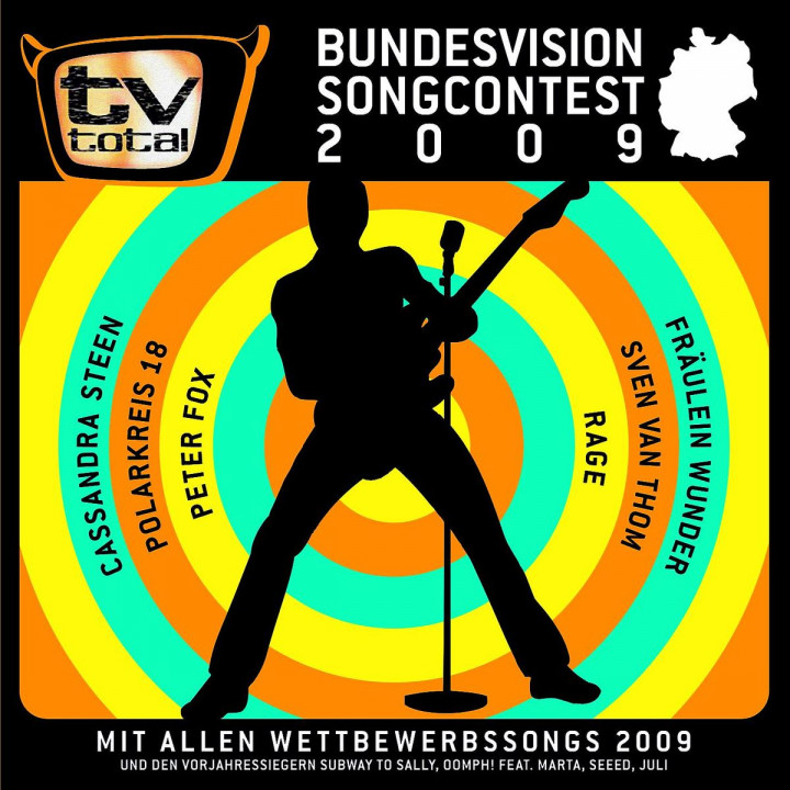 Bundesvision Songcontest 2009 0600753161203