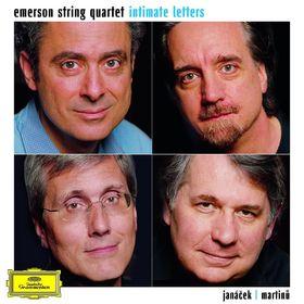 Emerson String Quartet, Intimate Letters Janacek und Martinu: Streichquartette, 00028947780939