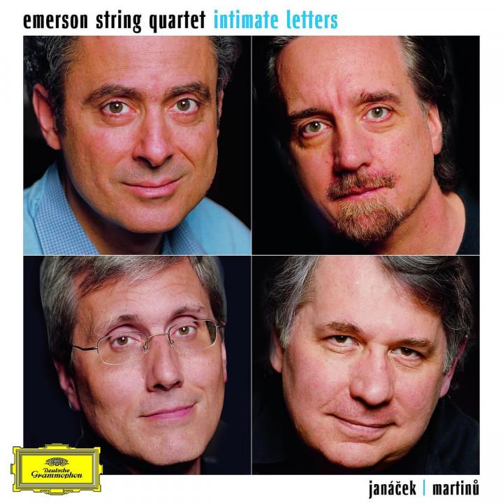 """Intimate Letters"" Janacek/Martinu: String Quartets 0028947780939"