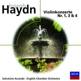 eloquence, Haydn - Violinkonzerte 1,3 & 4, 00028948017522