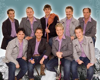 Die Bergkameraden, Sie starten zusammen mit Oswald Sattler beim Grand Prix-Vorentscheid. Hören Sie hier in das neue Album rein!