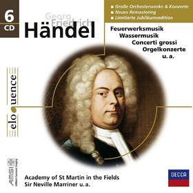 eloquence, Händel: Orchesterwerke und Konzerte [Eloquence], 00028948018628