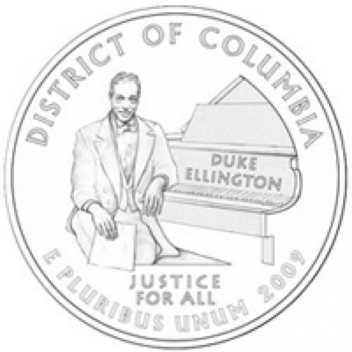 Duke Ellington viertel Doller