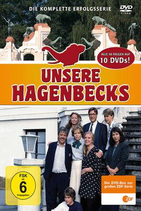 Unsere Hagenbecks, Die komplette ZDF-Serie (10-DVD-Box), 00602517864931