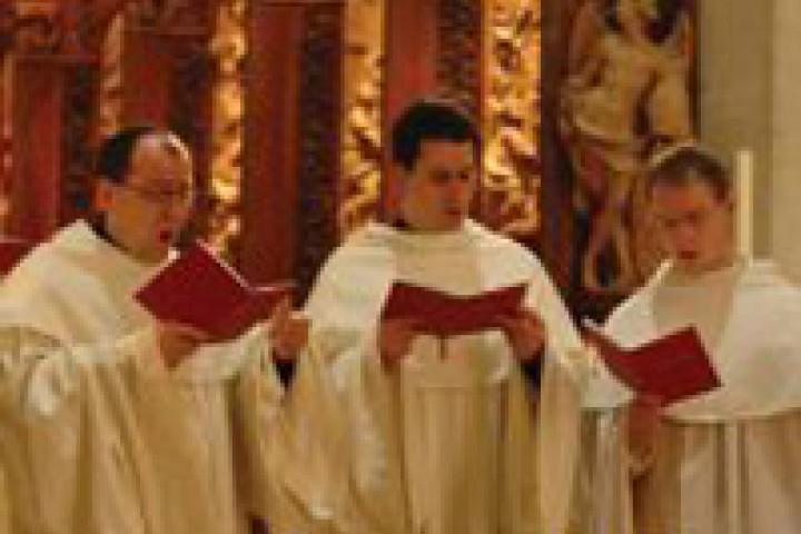 Die Zisterzienser Mönche vom Stift Heiligenkreuz