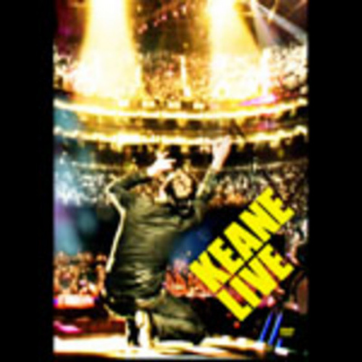 Keane Live DVD Cover