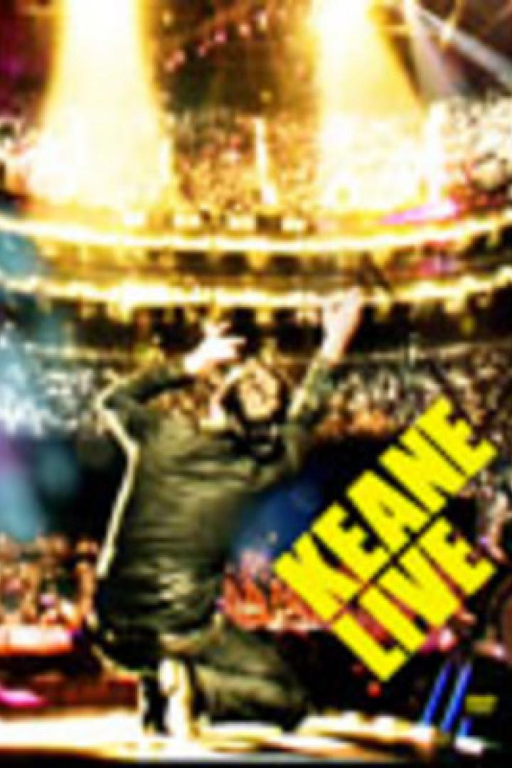 Keane Live DVD Cover