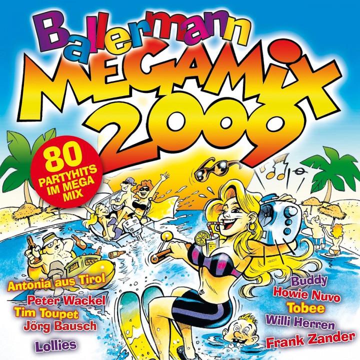 Ballermann Megamix 2009 4032989105571