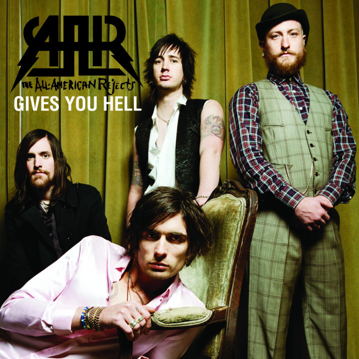 All-American Rejects Gives You Hell Singlecover