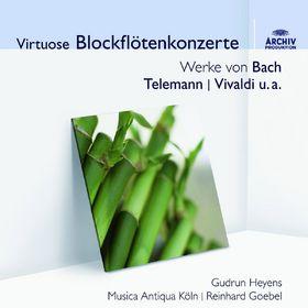 Musica Antiqua Köln, Virtuose Blockflötenkonzerte, 00028948020195