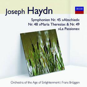 Audior, Haydn Symphonien Nr. 45, Nr. 48 & Nr. 49, 00028948020201