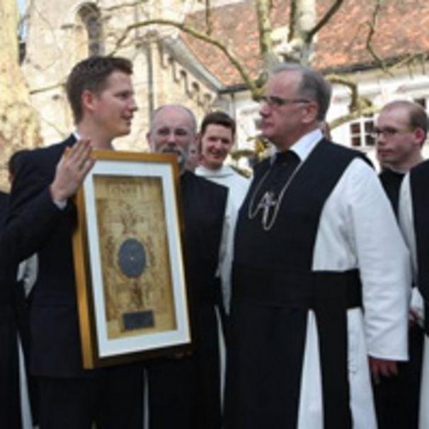 Chant for Peace, Platinauszeichnung im Stift Heiligenkreuz