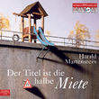 Harald Martenstein, Der Titel ist die halbe Miete, 09783869090054