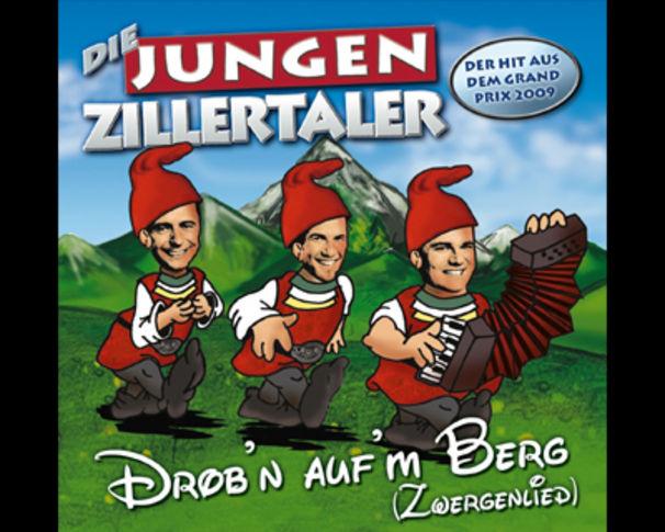Die Jungen Zillertaler, Mit Drob'n auf'm Berg beim Grand-Prix der Volksmusik-Vorentscheid
