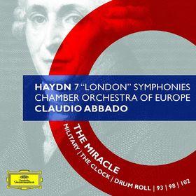 Claudio Abbado, Haydn: 7 London Symphonies, 00028947781172
