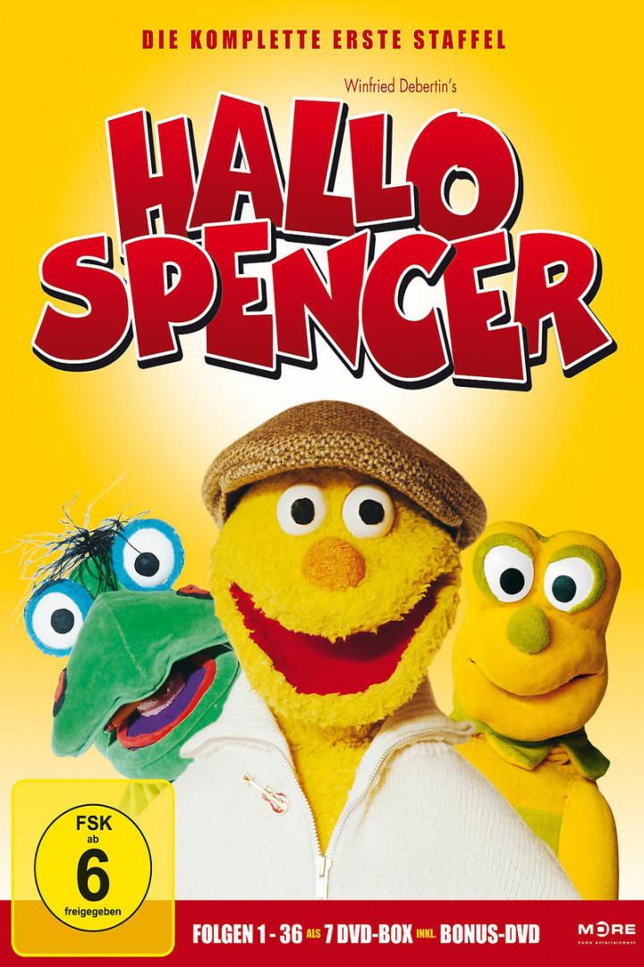 Hallo Spencer - die komplette 1. Staffel (Episoden 1 - 36)