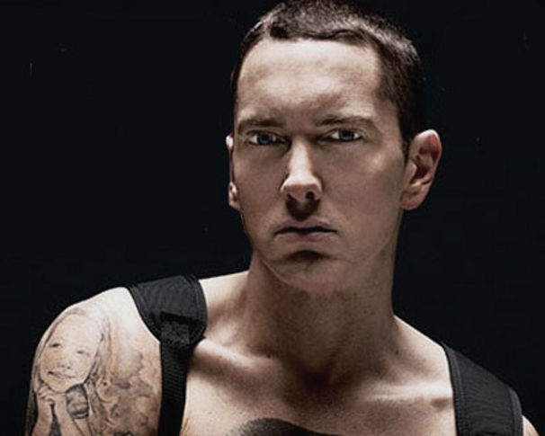 Eminem, Eminem in neuem Mark Wahlberg Box-Streifen!