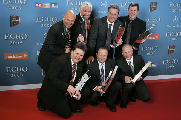 Kastelruther Spatzen, Kastelruther Spatzen feiern elften ECHO-Award, Katelruther Spatzen ECHO 2008