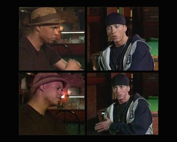 Eminem, Patrice traf Eminem in Detroit