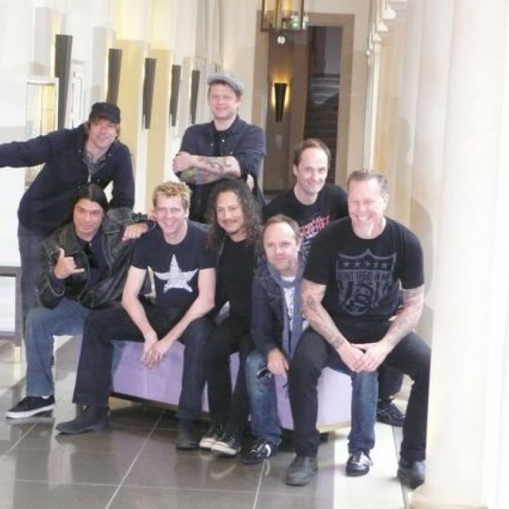 Metallica—Pressekonferenz Sonisphere Festival 2009