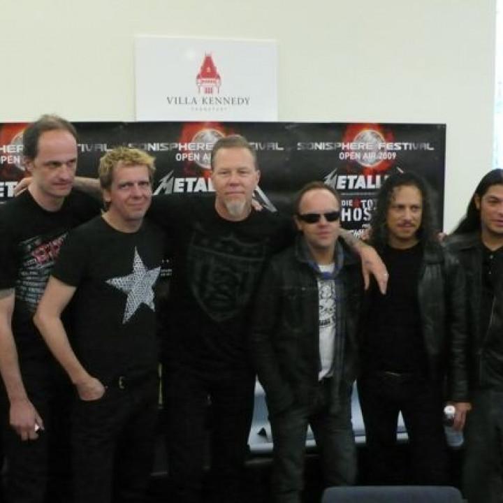 Metallica – Pressekonferenz Sonisphere Festival 2009