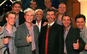 Die Bergkameraden, Die Bergkamerden & Oswald Sattler siegen bei der deutschen Vorentscheidung zum Grand Prix der Volksmusik 2009