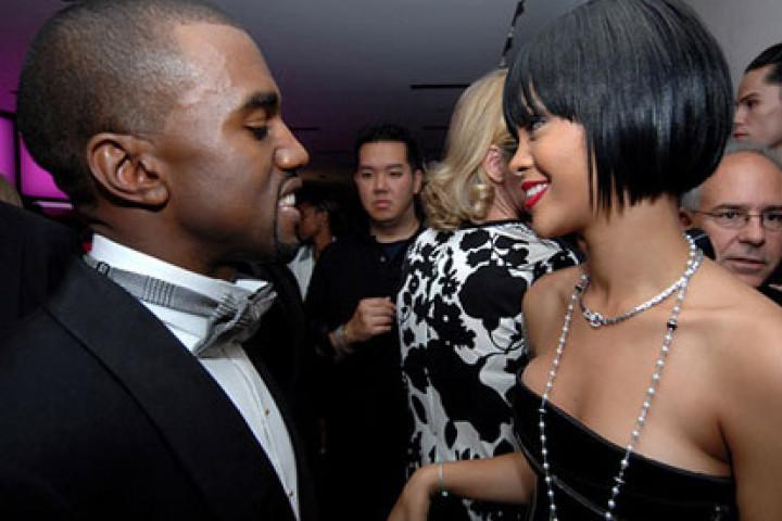 Rihanna und Kanye West
