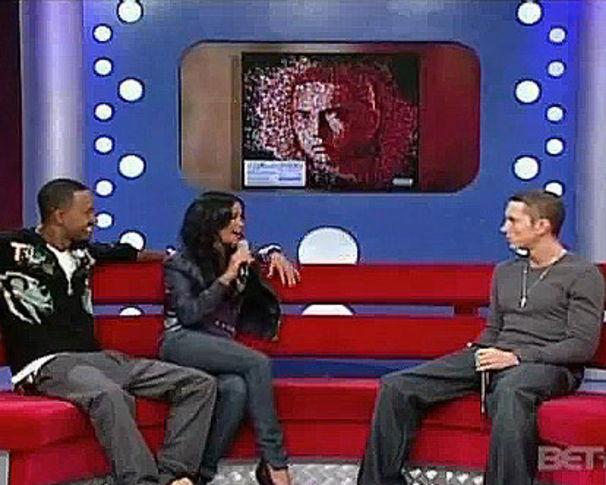 Eminem, Eminem & 50 Cent live bei BET's 106 & Park