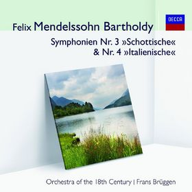 Audior, Mendelssohn Ouvertüre/Symphonien 3 & 4, 00028948024292