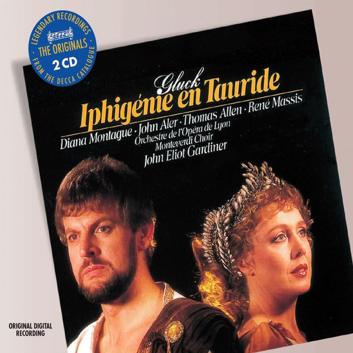 Iphigenie auf Tauris (GA): Montague/Massis/Monteverdi Choir/OOL/Garinier/+