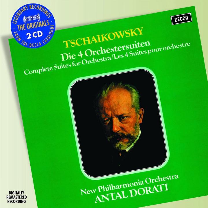 4 Suiten für Orchester: Dorati,Antal/New Philharmonia Orchestra