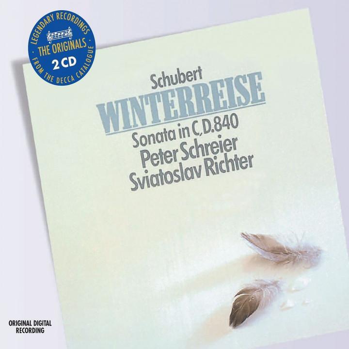 Winterreise,Klaviersonate in C-Dur,D840: Schreier,Peter/Richter,Sviatoslav