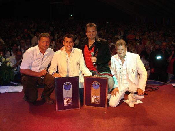 Gold und Platin für Marc Pirchers Sternenstaub in Österreich