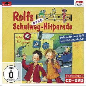 Rolf Zuckowski, Rolfs neue Schulweg-Hitparade, 00602527075457