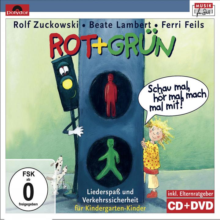 Rot + Grün - Schau mal, hör mal, mach mal mit!: Zuckowski, Rolf/Lambert,Beate/Feils,Ferri