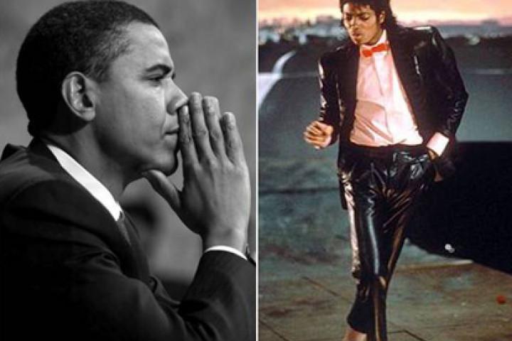 Michael Jackson & Barack Obama