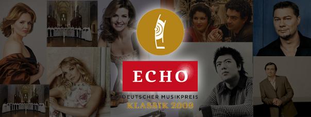 Lang Lang, Die Sieger des Echo Klassik 2009 stehen fest