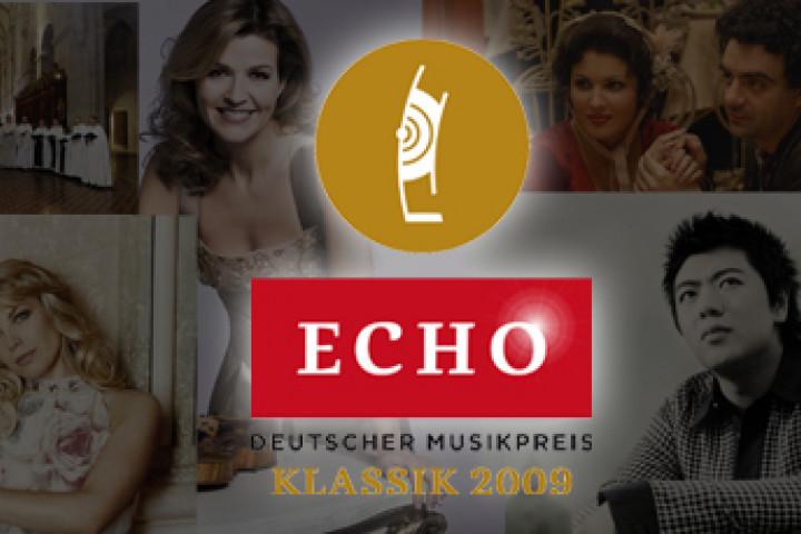 Echo Klassik 2009 © Deutsche Phono-Akademie/ Deutsche Grammophon / Decca / Universal Music