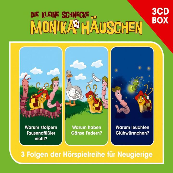 Monika Häuschen 3-CD Hörspielbox: Die kleine Schnecke Monika Häuschen