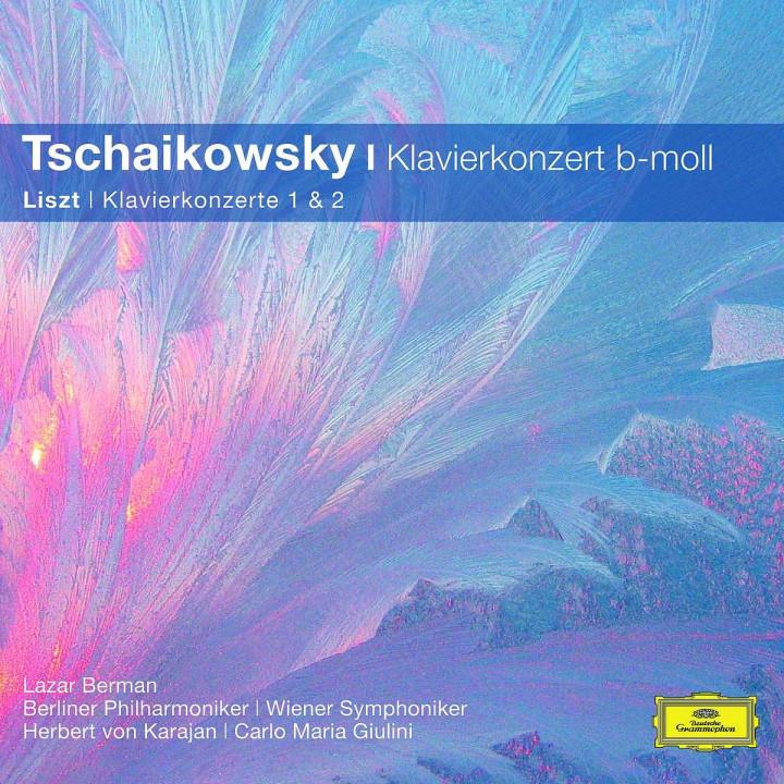 Klavierkonzert 1/Klavierkonzert 1,2 (CC): Berman/Karajan/Giulini/BP/WP