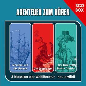 Abenteuer zum Hören, Die 3-CD Abenteuer Hörspielbox, 00602527100203
