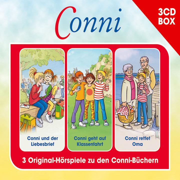 Conni 3-CD Hörspielbox Vol. 2: Conni
