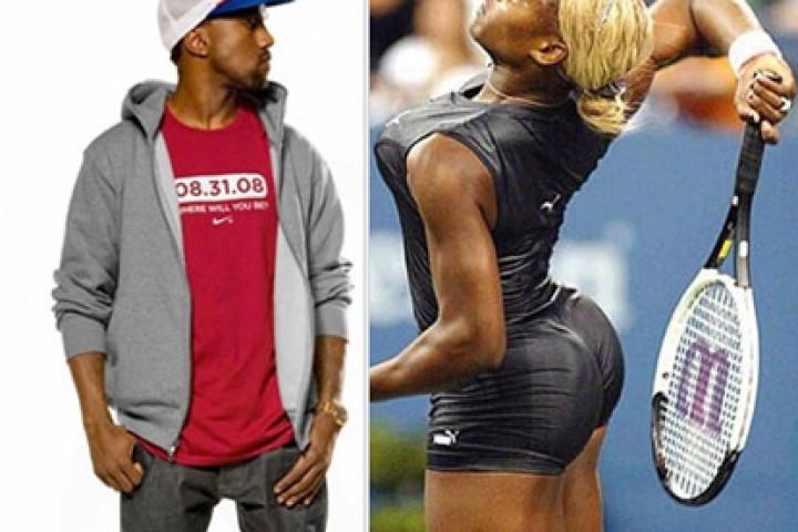 Kanye West & Serena Williams