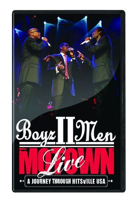 Boyz II Men, Motown: A Journey Through Hitsville USA - Live, 00602517897922